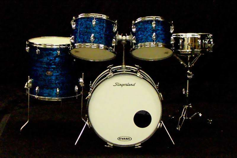 Intellasound / 1966 Slingerland kit